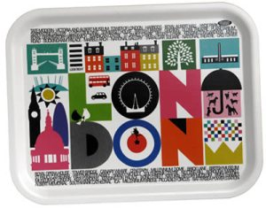 Maria Dahlgren London Tray